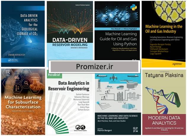 معرفی چند کتاب در مورد کاربرد یادگیری ماشین و علم داده در مهندسی نفت